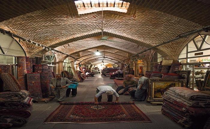 Hamedan-Bazaar