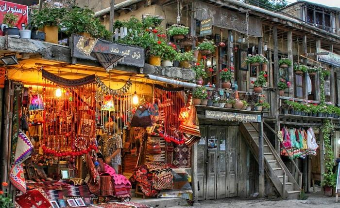 Masuleh-Bazaar