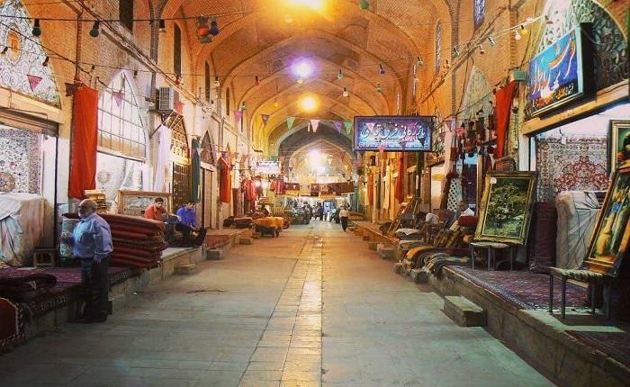 Zanjan-Bazaar